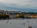 Blick zur Karlsbrücke und Hradschin / view to karlsbridge and hradschiin